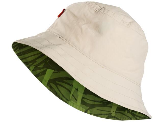 VAUDE Linell Hat Kids offwhite/chute green